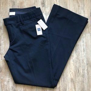 Gap modern boot cut pants navy